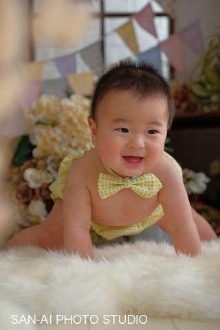 ハーフバースデー ハーフBD 6ヶ月 赤ちゃん
