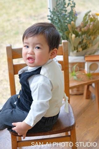 1歳バースデーフォト 誕生日記念