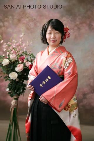 卒業生記念 袴レンタル