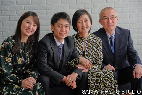 家族写真 家族の絆
