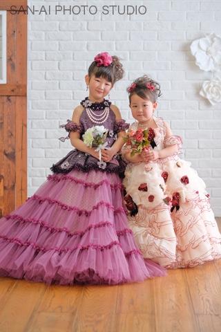 七五三記念 着物レンタル 子供ドレス