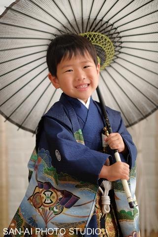 七五三記念 羽織袴