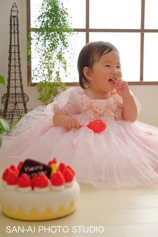 1歳誕生日記念