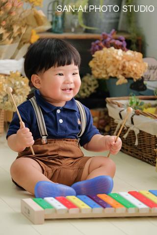 1歳 1歳誕生日 バースデー 誕生日 誕生日フォト
