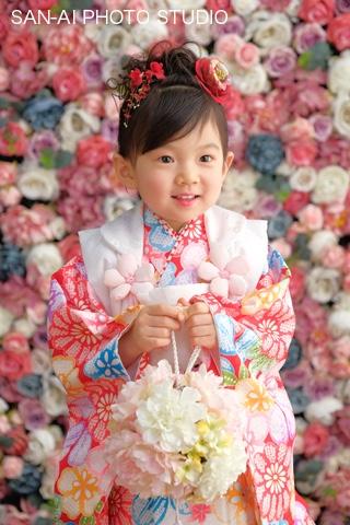 七五三記念 着物レンタル 子どもドレス