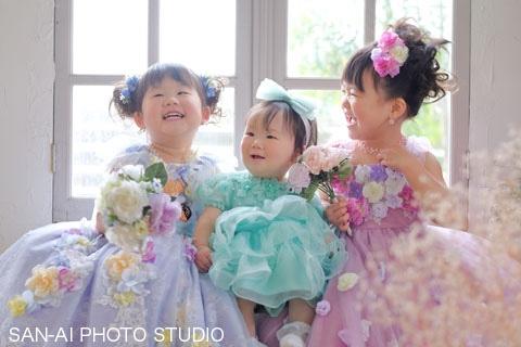 誕生日記念 子どもドレス