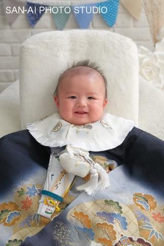 お宮参り記念 着物レンタル