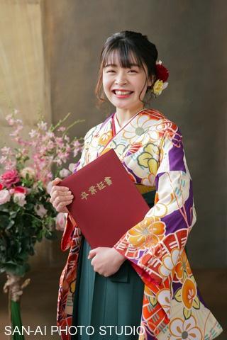 卒業記念 袴レンタル