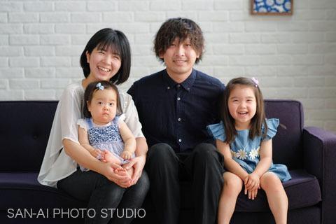 誕生日記念 家族写真