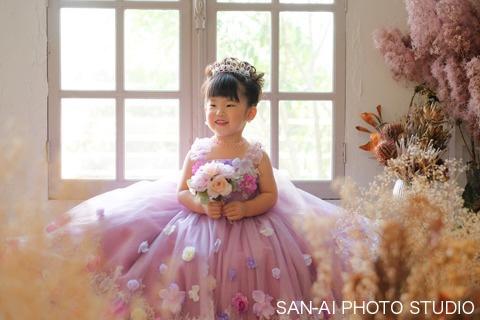 七五三記念 子供ドレス