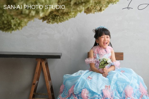 誕生日記念 子供ドレス