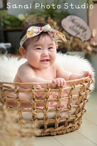 ハーフバースデー 女の子 赤ちゃん